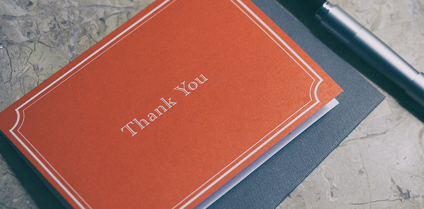 Dazzling Formal Job Interview Thank You Note Samples Job Hunt Org